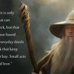 The Kingdom of God According to Gandalf