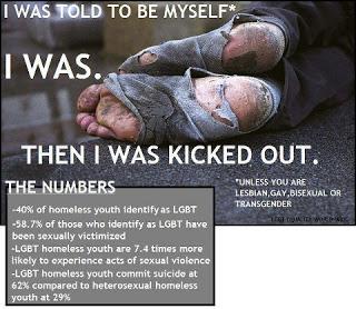 Homeless LGBT Stats