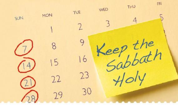 Genesis 2:1-3 Sabbath
