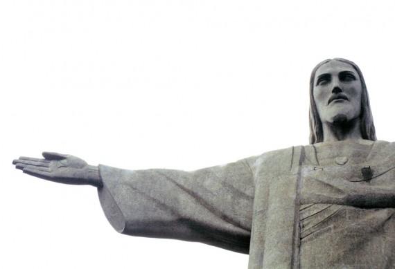 Jesus reaching non violence