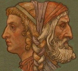 Janus faced God