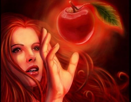Eve Eating fruit Genesis 3:6