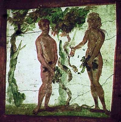 Genesis 3:7 Adam Eve fig leaves