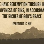 Ephesians 1:7-13a – Salvation in the Son