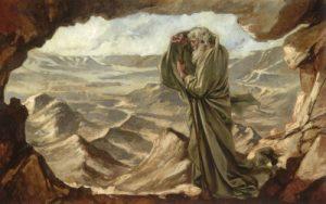 Elijah on Mt Horeb