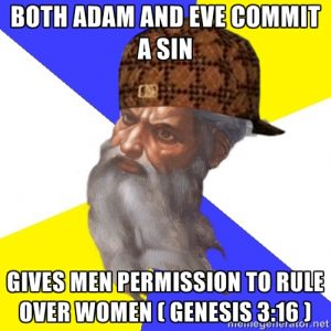 Genesis 3:16 men rule women