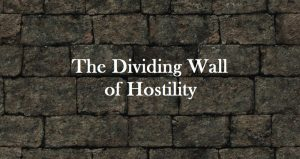 wall of hostility