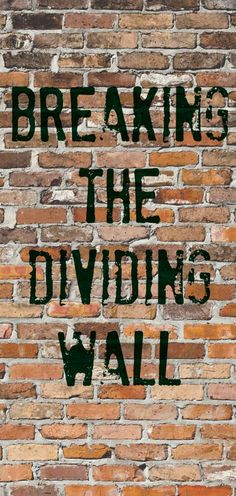 wall of hostility Ephesians 2