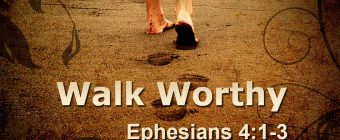 Ephesians 4:1-3 – How to Walk in Unity with other Christians