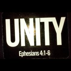 Unty in Ephesians 4