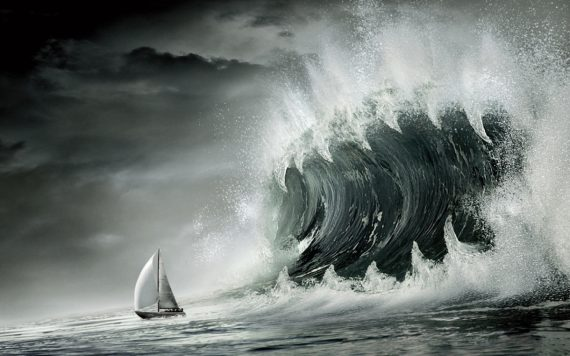 Jonah 1:4 god sends storms