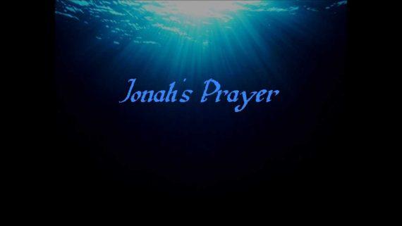 Jonah 2:4 Jonahs prayer