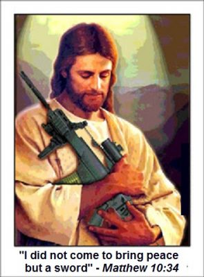 Jesus did not bring peace but a sword