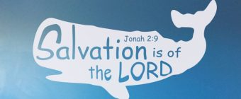 Jonah 2:9 – Salvation is from the Lord