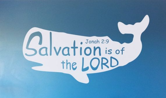Jonah 2:9 salvation is of the Lord