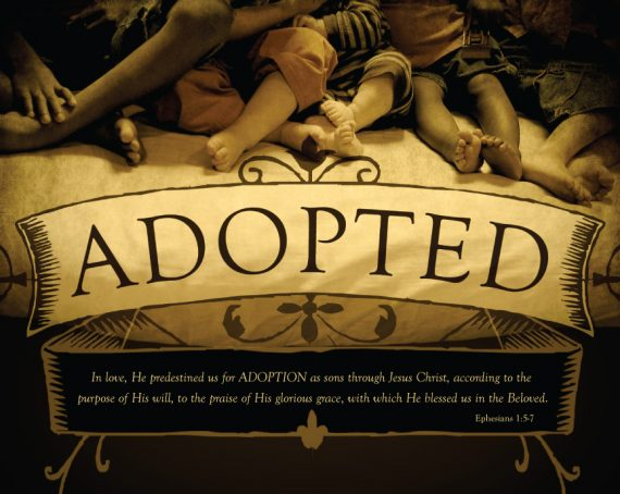 Romans 9:4 adoption