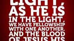 How does the blood of Jesus cleanse us from our sin? (1 John 1:7-10)