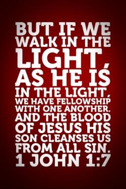 1 John 1:7-10