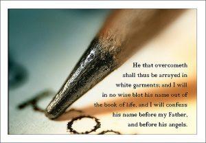 Revelation 3:5