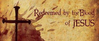 blood of Jesus redeems us