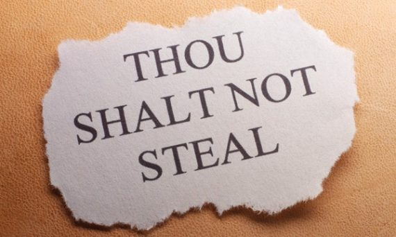 Ephesians 4:28 do not steal