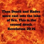 What is the second death? (Revelation 21:8)