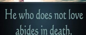 """What does """"passed from death to life"""" mean in 1 John 3:14?"""