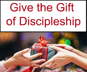 Gift of discipleship for Christmas