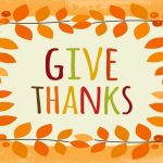 How to Know you are Filled with the Holy Spirit: Give Thanks (Ephesians 5:20)