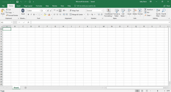 Excel Spreadsheet faith