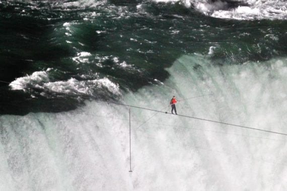 faith tightrope walk