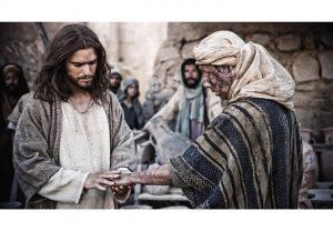 Jesus heals leper Mark 1:40-45